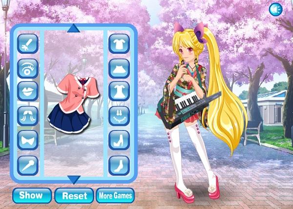 game Thoi trang Hatsune Miku 2 hinh anh 3