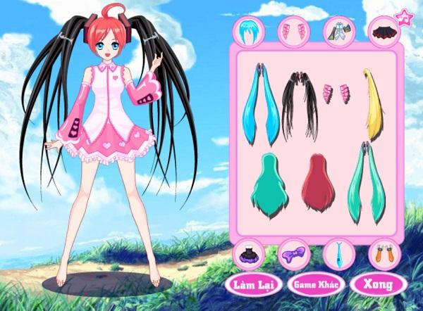 game Thoi trang Hatsune Miku hinh anh 1