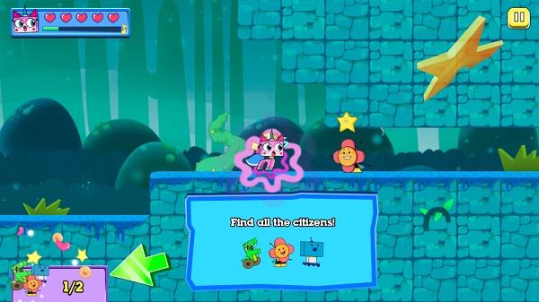 game Unikitty bao ve vuong quoc cartoon network online