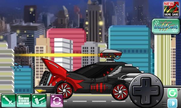 game Sieu xe bien hinh thanh robot