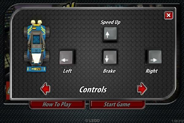 game Dua xe Lego hinh anh 1