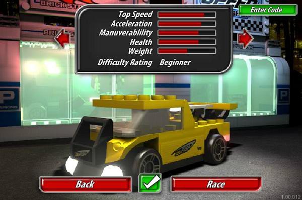 game Dua xe Lego hinh anh 2