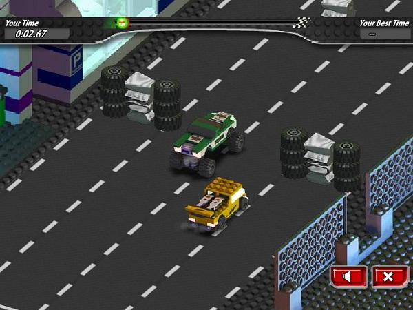 game Dua xe Lego hinh anh 3