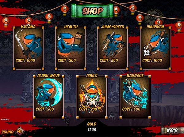 game Ninja vs Zombies 2 hinh anh 3