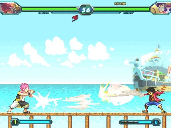 game One Piece vs Fairy Tail 2.0 vua hai tac vs hoi phap su