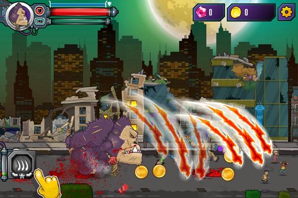 game Quai thu noi day mutant rampage