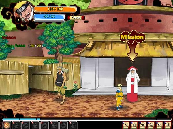 game Sieu anh hung ki su Naruto cho pc