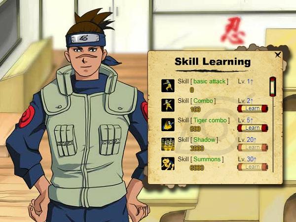 game Sieu anh hung ki su Naruto mien phi