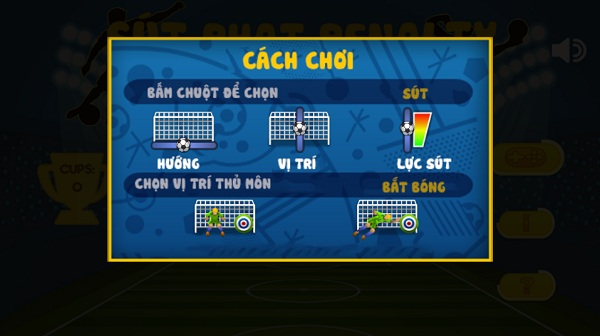 game Sut phat penalty hinh anh 1
