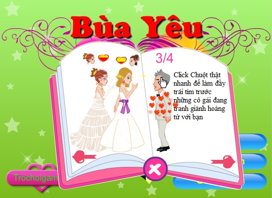 game Bua yeu hinh anh 1