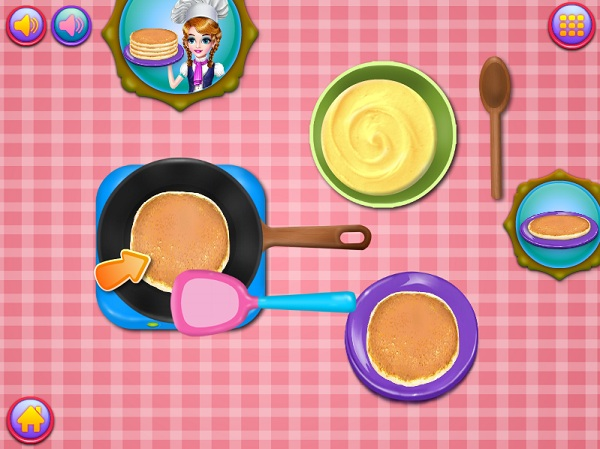 game Lam banh pancake 24h y8