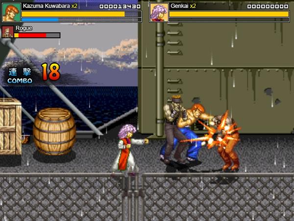 game Nhat duong chi yuyu hakusho wars