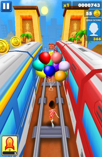 game Subway Surfers 3 mien phi