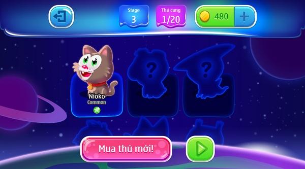 game Ban bong thu cung moi hay nhat