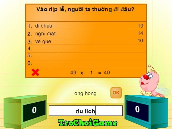 game Chung suc thieu nhi 2018