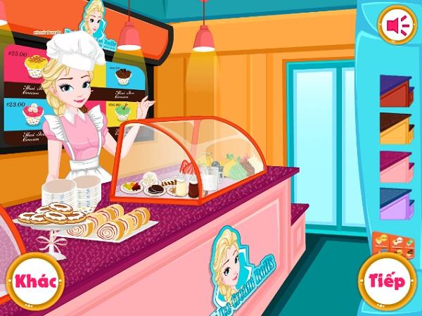 game Elsa lam kem cuon hinh anh 2