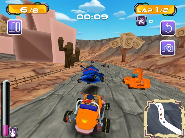 game Go Kart Pro hinh anh 2