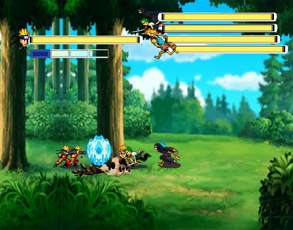game Naruto luyen vo hinh anh 3