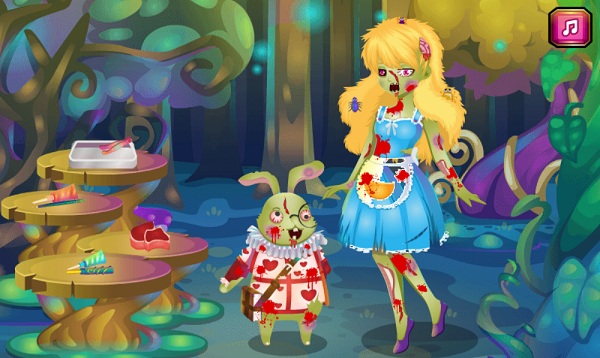 game Alice bien thanh zombie hinh anh 1