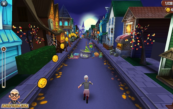 game Ba gia noi gian halloween hinh anh 1