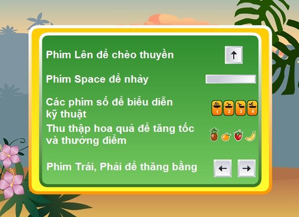 game Cheo thuyen vuot thac hinh anh 1