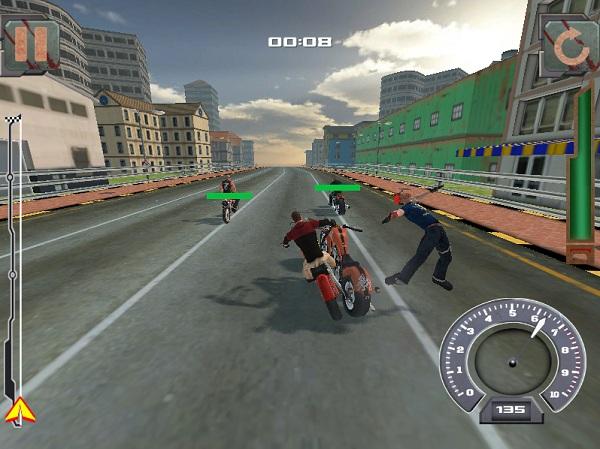 game Dua xe danh nhau 3 cho may tinh pc android iphone