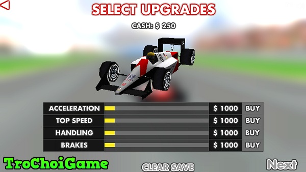 game Dua xe F1 3D hinh anh 2