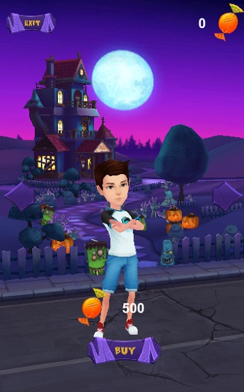 game Subway Surfers Halloween hinh anh 2