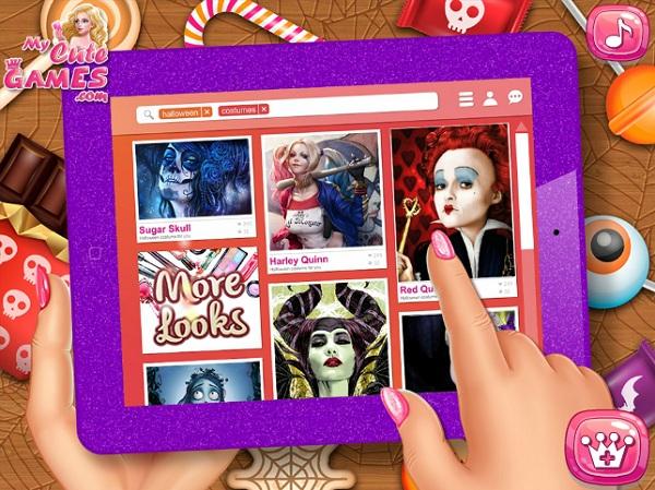 game Thoi trang cong chua Disney halloween hinh anh 1