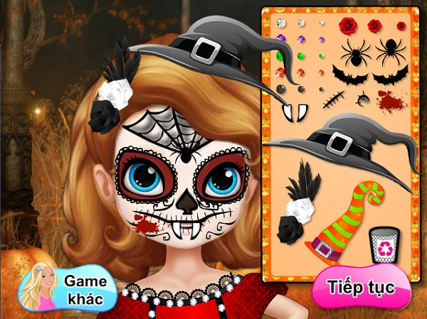 game Trang diem halloween Sofia de nhat