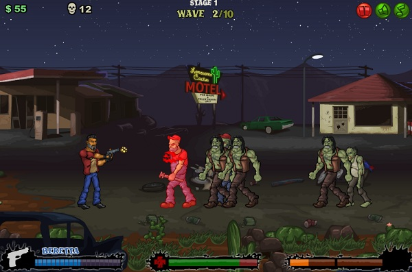 game Cao boi diet zombie 2 hinh anh 2