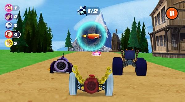 game Cuoc dua huyen thoai wacky races