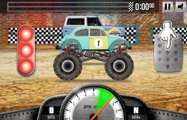 game Cuoc dua xe tai 2 hinh anh 1