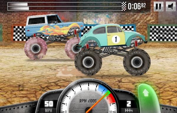 game Cuoc dua xe tai 2 hinh anh 2