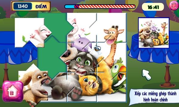 game Meo Tom don dep hinh anh 3