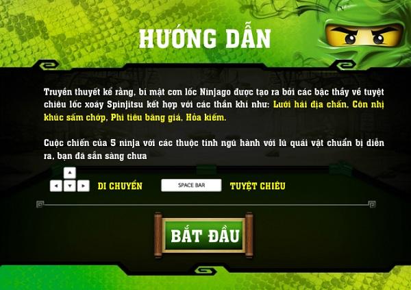 game Ninjago loc xoay 2 hinh anh 1