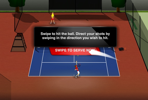 game Stick Tennis hinh anh 1