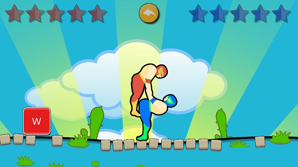 game Wrestle Jump hinh anh 2