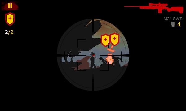 game Xa thu danh thue dawn of the sniper 2