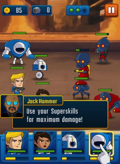 game Biet doi sieu robot hinh anh 2
