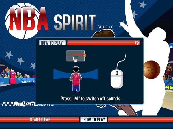 game Bong ro NBA online offline