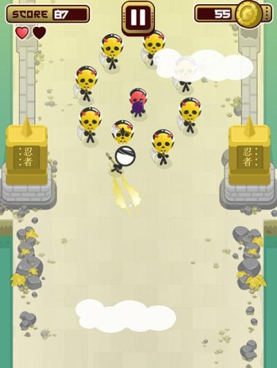 game Ninja nguoi que stickman dash