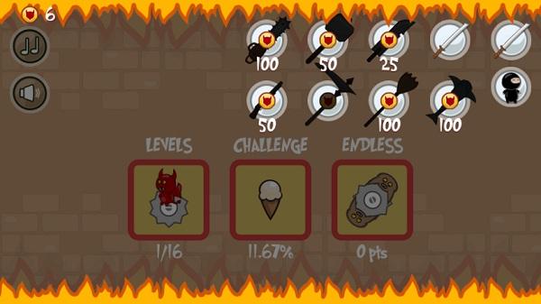 game Ninja Shurican online 24h y8