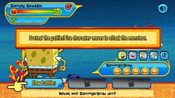 game Spongebob hon dao quai vat hinh anh 1