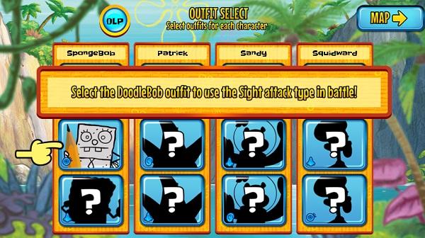 game Spongebob hon dao quai vat phieu luu