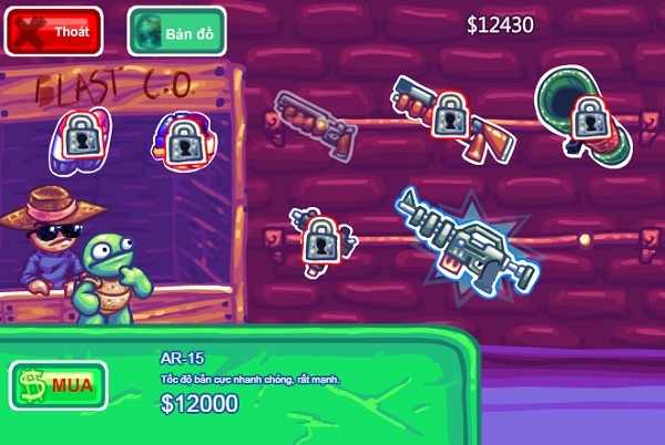 game Tay sung ninja rua hinh anh 3
