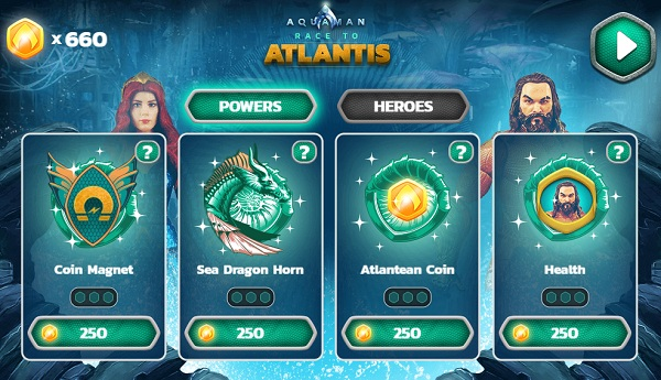 game Aquaman De vuong Atlantis 24h y8