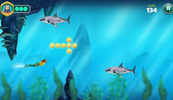 game Aquaman De vuong Atlantis hinh anh 2