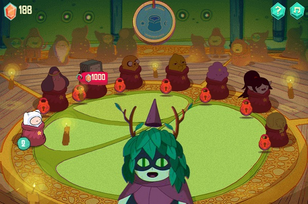 game Gio phieu luu: Cuoc chien phu thuy wizard battle adventure time