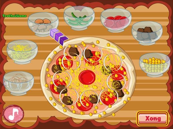 game Pizza kieu Y hinh anh 3
